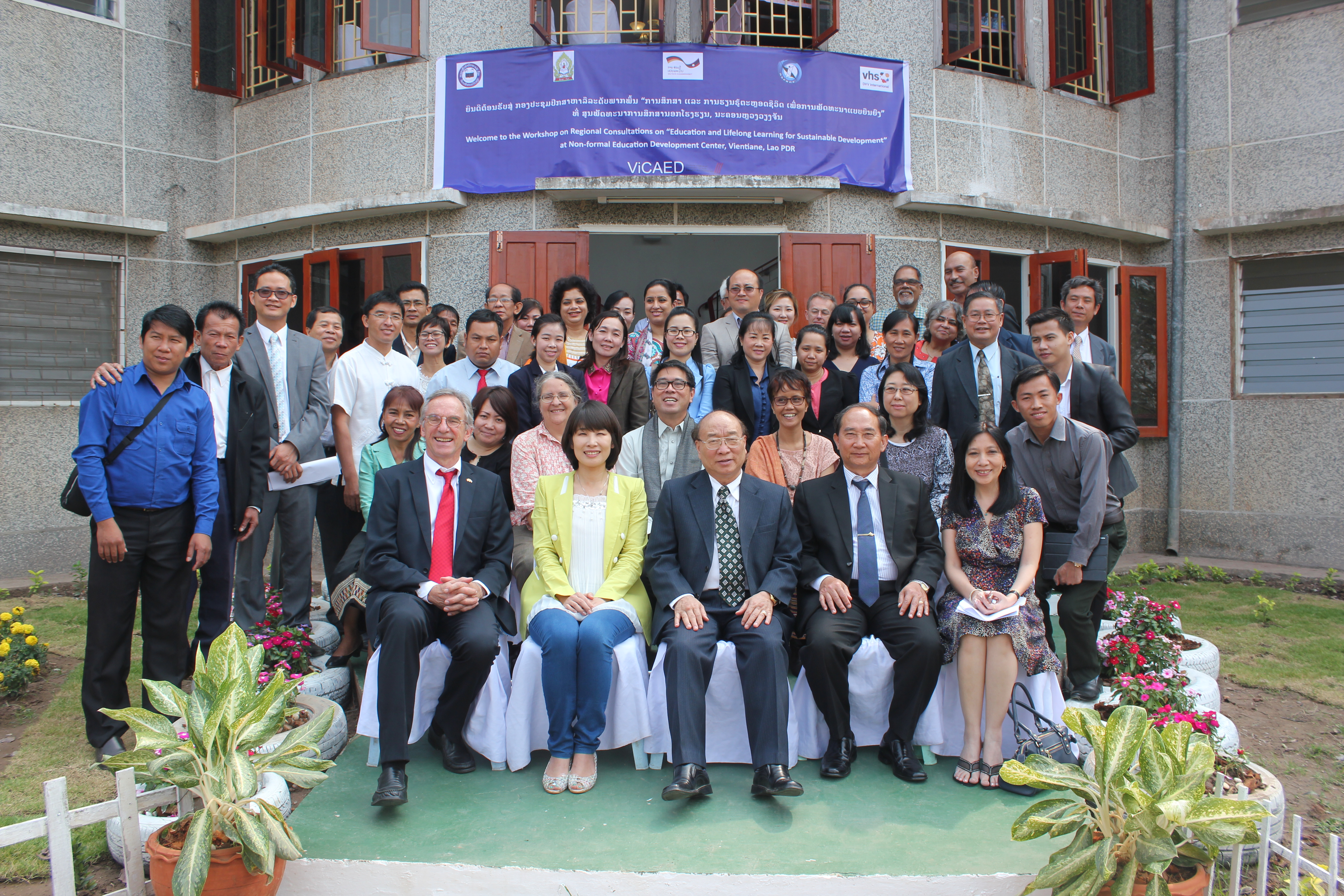 DVV-ASPBAE Regional Consultation takes place in Laos