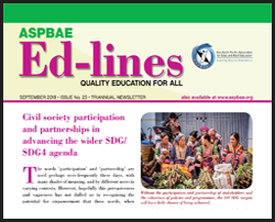 Ed-lines, September 2018 - Civil society participation & partnerships in advancing the wider SDG-SDG4 agenda.pdf